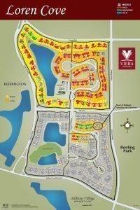 Loren Cove South Lot Release Map Viera FL 2019